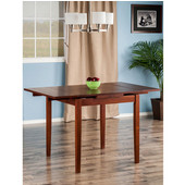 Pulman Extension Table, Walnut, 48''W x 30''D x 29-5/16''H