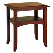 Craftsman End Table, Antique Walnut finish