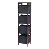 Winsome - Capri 4-Section Storage Shelf