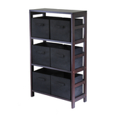 Winsome - Capri 3-Section Storage Shelf