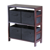 Winsome - Capri 2-Section Storage Shelf