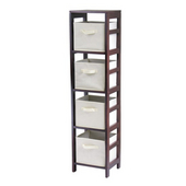 Winsome - Capri 4-Section N Storage Shelf