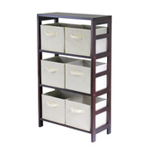 Winsome - Capri 3-Section M Storage Shelf
