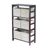Winsome - Capri 3-Section M Storage Shelf