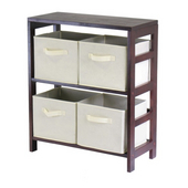 Winsome - Capri 2-Section M Storage Shelf