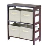 Winsome - Capri 2-Section M Storage Shelf