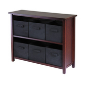 Winsome - Verona 2-Section W Storage Shelf