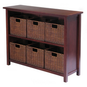 Winsome - Milan 7Pc Storage Shelf