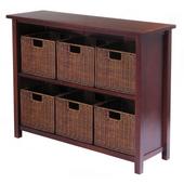 Winsome - Milan 7Pc Storage Shelf