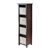 Winsome - Verona 4-Section N Storage Shelf