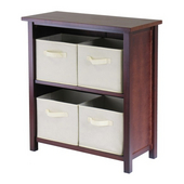 Winsome - Verona 2-Section M Storage Shelf