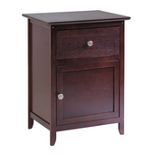 Night Stand/ Accent Table, Antique Walnut