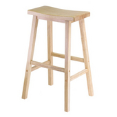 Winsome - 29'' Saddle Seat Bar Stool