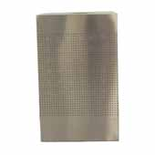 40 Gallon Indoor Celestial Collection Receptacle In Stainless Steel, 18-3/4''W x 18-3/4''D x 30''H