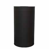 Witt 12 Gallon Indoor Celestial Collection Receptacle In Black, 18''W x 9''D x 32''H