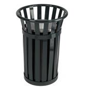 Urn Basket with Black Galvanized Liner, Black, 17''Dia. X 26''H