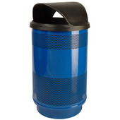 Stadium Series Standard Unit With Hood Top Lid, Painted, 55 gal, Post Office Blue