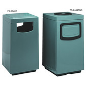 Square With Side Access Service Door, Plastic Liner, 36 Gal, Available in Various Finishes