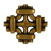 Celtic Knot Knob, 1-7/8'' x 1-7/8'', Antique Brass