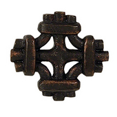 Celtic Knot Knob, 1-7/8'' x 1-7/8'', Oil Rubbed Bronze