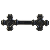 Celtic Knot Pull, 4-3/4'' x1-1/4'', Black