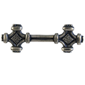 Celtic Knot Pull, 4-3/4'' x1-1/4'', Pewter