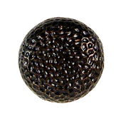 Hammered Knob, 1-5/8'' Round, Oil Rubbed Bronze