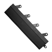 FIT Functional Interlocking Ramps, Case of 20, 3'' x 12'' x 5/8'' Thick, Black