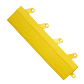 FIT Functional Interlocking Ramps, Case of 20, 3'' x 12'' x 5/8'' Thick, Yellow