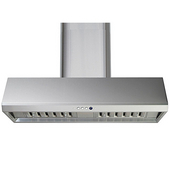 Wall Chimney Range Hood 36''W, 700 CFM