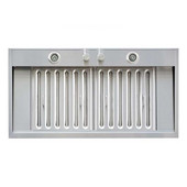 WS-69TS Series 36'' Stainless Steel Built-In Insert/ Liner Range Hood